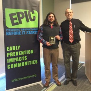 Nicholas Cody Receives 2016 EPIC Award!
