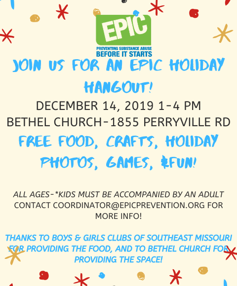 EPIC Holiday Hangout