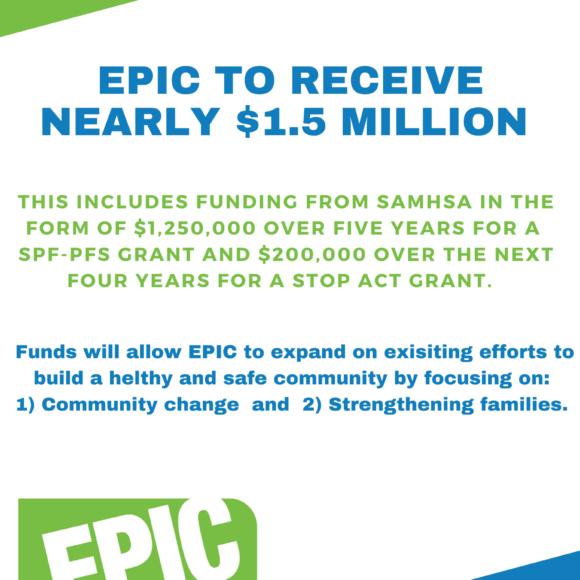 EPIC Awarded Nearly $1.5 Million
